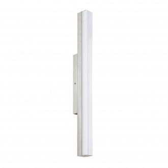 EGLO 94617 | Torretta Eglo zidna svjetiljka 1x LED 1500lm 4000K IP44 poniklano mat, bijelo