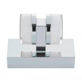 EGLO 94651 | Romendo Eglo zidna svjetiljka 2x LED 960lm 3000K IP44 krom, bijelo, prozirna