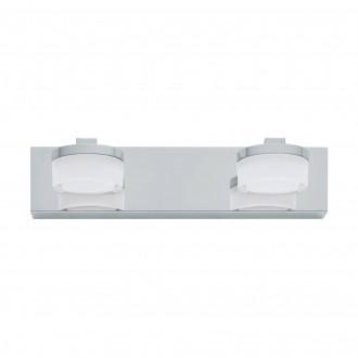 EGLO 94652 | Romendo Eglo zidna svjetiljka 2x LED 960lm 3000K IP44 krom, bijelo, prozirna