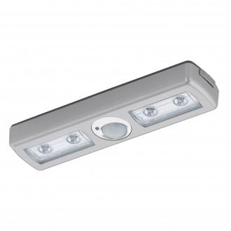 EGLO 94686 | Baliola Eglo osvjetljenje namještaja svjetiljka sa senzorom 4x LED 780lm 3000K poniklano mat