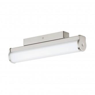 EGLO 94715 | Calnova Eglo zidna svjetiljka 1x LED 770lm 4000K IP44 poniklano mat, bijelo