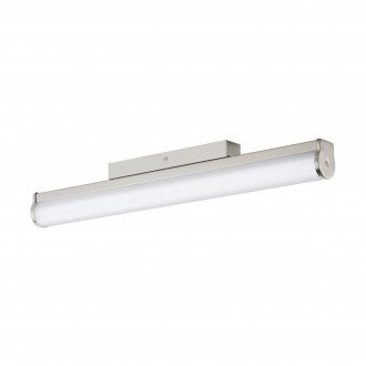 EGLO 94716 | Calnova Eglo zidna svjetiljka 1x LED 1500lm 4000K IP44 poniklano mat, bijelo