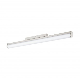 EGLO 94717 | Calnova Eglo zidna svjetiljka 1x LED 2200lm 4000K IP44 poniklano mat, bijelo