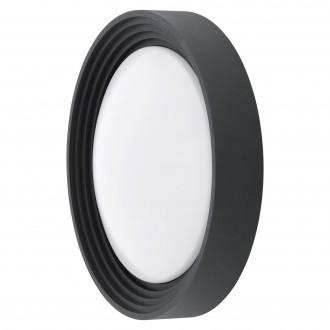 EGLO 94784 | Ontaneda Eglo zidna, stropne svjetiljke svjetiljka okrugli 1x LED 820lm 3000K IP44 crno, bijelo