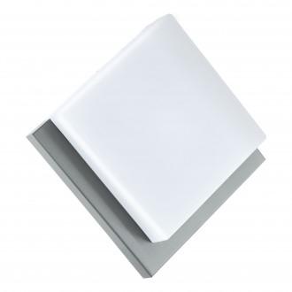 EGLO 94877 | Infesto-1 Eglo zidna, stropne svjetiljke svjetiljka oblik cigle 1x LED 820lm 3000K IP44 srebrno, bijelo
