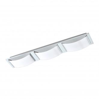 EGLO 94883 | Wasao-1 Eglo zidna, stropne svjetiljke svjetiljka 3x LED 1530lm 3000K IP44 krom, bijelo