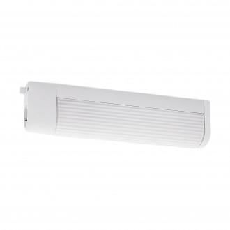 EGLO 94987 | Bari3 Eglo zidna svjetiljka s prekidačem s utičnicom 2x E14 bijelo