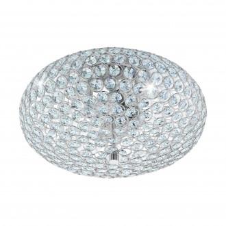 EGLO 95284 | Clemente Eglo stropne svjetiljke svjetiljka 2x E27 krom, prozirno