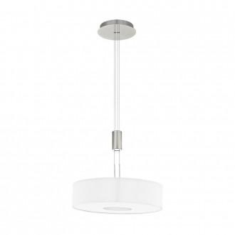 EGLO 95331 | Romao Eglo visilice svjetiljka balansna - ravnotežna, sa visinskim podešavanjem, jačina svjetlosti se može podešavati 1x LED 2450lm 3000K poniklano mat, krom, bijelo