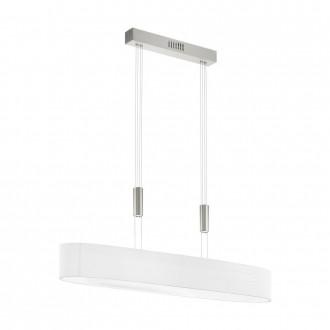 EGLO 95333 | Romao Eglo visilice svjetiljka balansna - ravnotežna, sa visinskim podešavanjem, jačina svjetlosti se može podešavati 6x LED 18000lm 3000K poniklano mat, krom, bezbojno