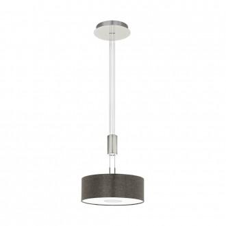 EGLO 95338 | Romao Eglo visilice svjetiljka balansna - ravnotežna, sa visinskim podešavanjem, jačina svjetlosti se može podešavati 1x LED 1600lm 3000K poniklano mat, krom, smeđe