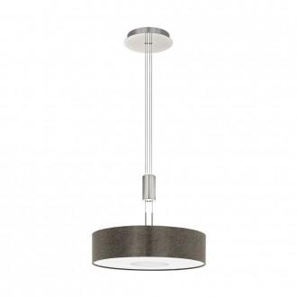 EGLO 95339 | Romao Eglo visilice svjetiljka balansna - ravnotežna, sa visinskim podešavanjem, jačina svjetlosti se može podešavati 1x LED 2450lm 3000K poniklano mat, krom, smeđe