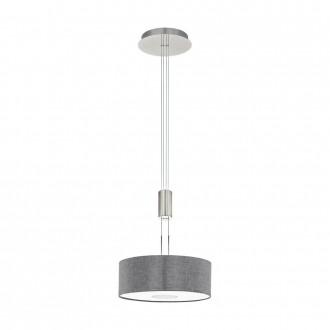 EGLO 95347 | Romao Eglo visilice svjetiljka balansna - ravnotežna, sa visinskim podešavanjem, jačina svjetlosti se može podešavati 1x LED 1600lm 3000K poniklano mat, krom, sivo