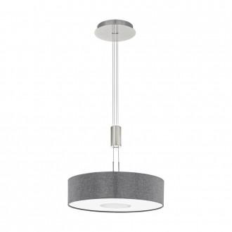 EGLO 95348 | Romao Eglo visilice svjetiljka balansna - ravnotežna, sa visinskim podešavanjem, jačina svjetlosti se može podešavati 1x LED 2450lm 3000K poniklano mat, krom, sivo