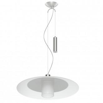 EGLO 95462 | Cabral Eglo visilice svjetiljka balansna - ravnotežna, sa visinskim podešavanjem 1x E27 poniklano mat, bijelo