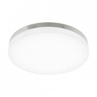 EGLO 95497 | EGLO-Smart_Sortino-S Eglo stropne svjetiljke smart rasvjeta jačina svjetlosti se može podešavati, sa podešavanjem temperature boje 1x LED 2650lm 2700 <-> 5000K poniklano mat, bijelo