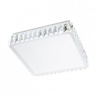 EGLO 95542 | EGLO-Smart_Tellugio-S Eglo stropne svjetiljke smart rasvjeta jačina svjetlosti se može podešavati, sa podešavanjem temperature boje 1x LED 2800lm 2700 <-> 5000K krom, prozirno, bijelo