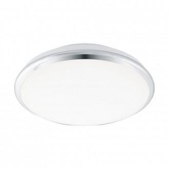 EGLO 95551 | EGLO-Smart_Manilva-S Eglo zidna, stropne svjetiljke smart rasvjeta jačina svjetlosti se može podešavati, sa podešavanjem temperature boje 1x LED 1900lm 2700 <-> 5000K krom, bijelo