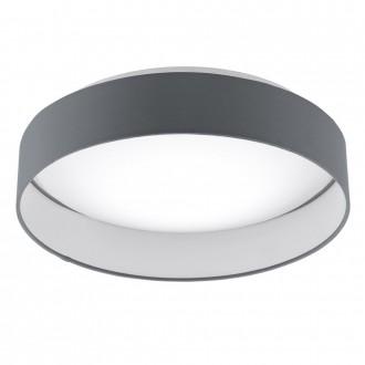 EGLO 95552 | EGLO-Smart_Palomaro-S Eglo stropne svjetiljke smart rasvjeta jačina svjetlosti se može podešavati, sa podešavanjem temperature boje 1x LED 1900lm 2700 <-> 5000K bijelo, antracit