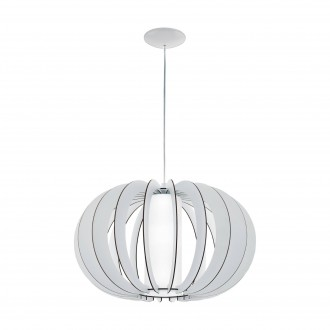 EGLO 95607 | Stellato Eglo visilice svjetiljka 1x E27 bijelo