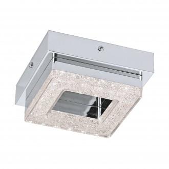 EGLO 95655 | Fradelo Eglo zidna, stropne svjetiljke svjetiljka 1x LED 400lm 3000K krom, prozirna