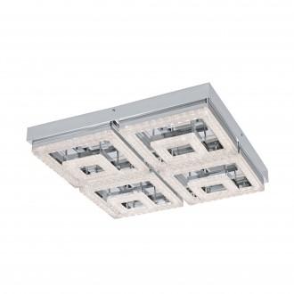 EGLO 95661 | Fradelo Eglo stropne svjetiljke svjetiljka 1x LED 5000lm 3000K krom, prozirna