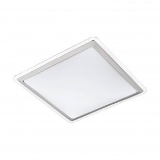 EGLO 95681 | Competa-1 Eglo zidna, stropne svjetiljke svjetiljka 1x LED 2500lm 3000K bijelo, srebrno, prozirna