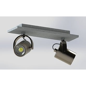 EGLO 95742 | Praceta Eglo spot svjetiljka elementi koji se mogu okretati 2x GU10 480lm 3000K poniklano mat, sivo, krom