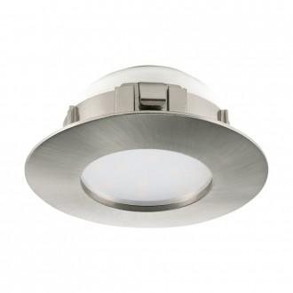 EGLO 95806 | Pineda Eglo ugradbena svjetiljka Ø78mm 1x LED 500lm 3000K poniklano mat