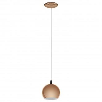 EGLO 95838 | Petto-LED Eglo visilice svjetiljka 1x GU10 250lm 3000K crveni bakar