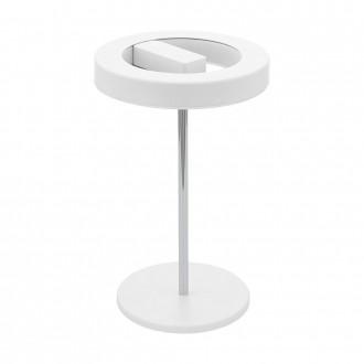 EGLO 95906 | EGLO-Smart_Alvendre-S Eglo stolna smart rasvjeta 35cm sa prekidačem na kablu jačina svjetlosti se može podešavati, sa podešavanjem temperature boje 1x LED 1400lm 2700 <-> 5000K bijelo, krom