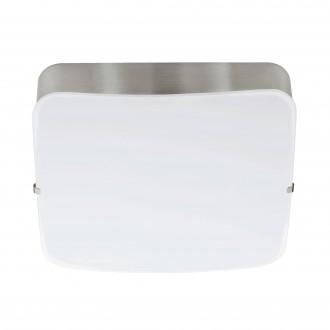 EGLO 95967 | Cupella-1 Eglo zidna, stropne svjetiljke svjetiljka četvrtast 1x LED 950lm 3000K poniklano mat, bijelo