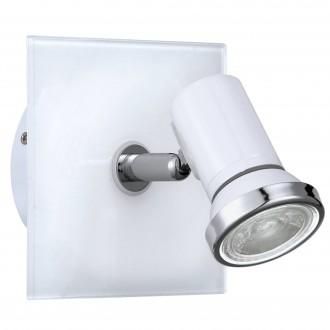 EGLO 95993 | Tamara1-LED Eglo spot svjetiljka 1x GU10 240lm 3000K IP44 bijelo, krom