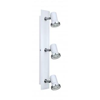 EGLO 95994 | Tamara1-LED Eglo spot svjetiljka 3x GU10 720lm 3000K IP44 bijelo, krom