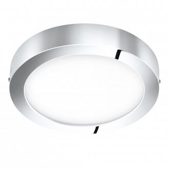 EGLO 96058 | Fueva-1 Eglo zidna, stropne svjetiljke LED panel okrugli 1x LED 2200lm 3000K IP44 krom, bijelo