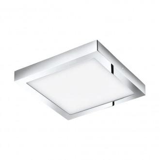 EGLO 96059 | Fueva-1 Eglo zidna, stropne svjetiljke LED panel četvrtast 1x LED 2600lm 3000K IP44 krom, bijelo