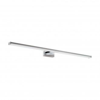 EGLO 96066 | Pandella-1 Eglo zidna svjetiljka 1x LED 1700lm 4000K IP44 krom, srebrno, bijelo