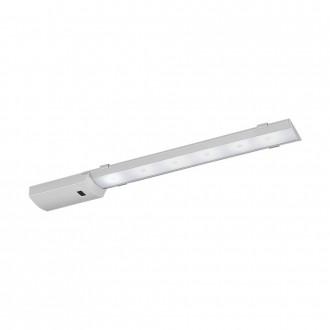 EGLO 96079 | Teya Eglo osvjetljenje ploče svjetiljka sa senzorom 1x LED 550lm 4000K srebrno, bijelo