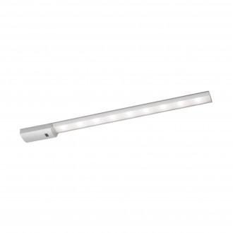 EGLO 96081 | Teya Eglo osvjetljenje ploče svjetiljka sa senzorom 1x LED 850lm 4000K srebrno, bijelo