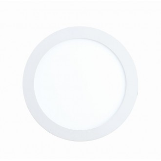 EGLO 96165 | Fueva-1 Eglo ugradbene svjetiljke LED panel okrugli Ø170mm 1x LED 1200lm 3000K IP44 bijelo