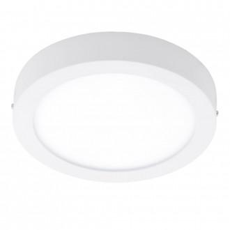 EGLO 96168 | Fueva-1 Eglo zidna, stropne svjetiljke LED panel okrugli 1x LED 2200lm 3000K IP44 bijelo