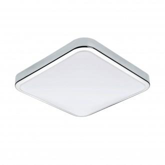 EGLO 96229 | Manilva-1 Eglo zidna, stropne svjetiljke svjetiljka 1x LED 1500lm 3000K IP44 krom, bijelo