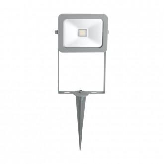 EGLO 96285 | Faedo Eglo reflektor ubodne svjetiljke svjetiljka vilasti utikač - bez utikača elementi koji se mogu okretati 1x LED 900lm 6500K IP44 srebrno, prozirno