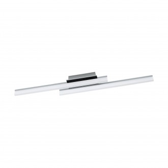 EGLO 96409 | Lapela Eglo zidna, stropne svjetiljke svjetiljka 2x LED 2600lm 3000K krom, saten