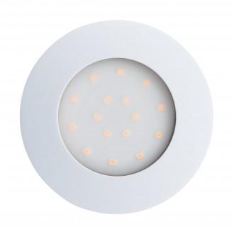 EGLO 96416 | Pineda-IP Eglo ugradbena svjetiljka Ø102mm 1x LED 1000lm 3000K IP44 bijelo, opal