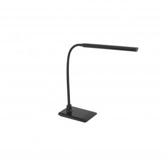EGLO 96438 | Laroa Eglo stolna svjetiljka 32,5cm sa tiristorski dodirnim prekidačem fleksibilna, jačina svjetlosti se može podešavati 1x LED 550lm 4000K crno