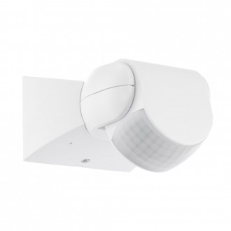 EGLO 96455 | Eglo sa senzorom PIR 180° IP44 bijelo
