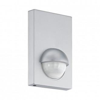 EGLO 96458 | Eglo sa senzorom PIR 180° IP44 srebrno
