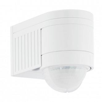 EGLO 96459 | Eglo sa senzorom PIR 360° svjetlosni senzor - sumračni prekidač IP44 bijelo