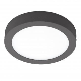 EGLO 96492 | Argolis Eglo zidna, stropne svjetiljke svjetiljka okrugli 1x LED 1600lm 3000K IP44 antracit, bijelo